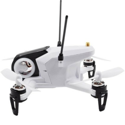 Белый гоночный квадрокоптер Walkera Rodeo 150